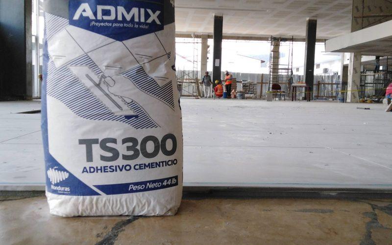 Instalación de porcelanato sobre paladino original con Admix TS 300