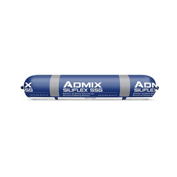 Admix-SiliFlex-SSG-Salchicha-Sellador-Silicon-estructural