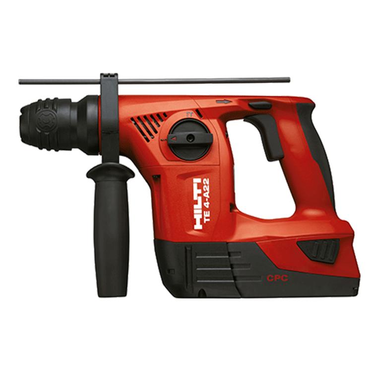 Hilti-te4-martillo-Perforadora-bateria-Equipos-herramientas.